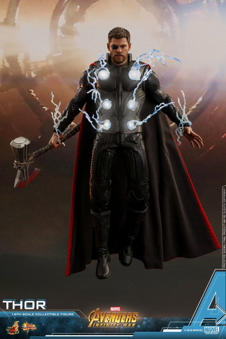 Hot Toys Marvel Avengers Infinity War Thor 1:6th Figure